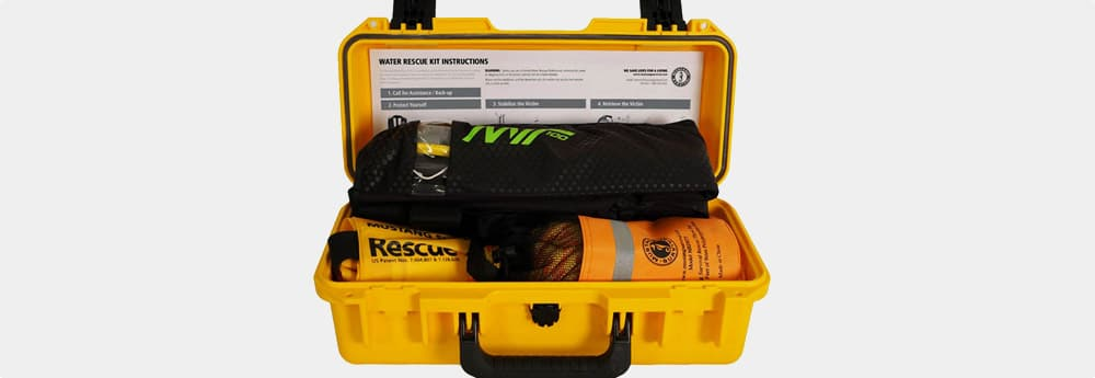 yellow custom case rescue case
