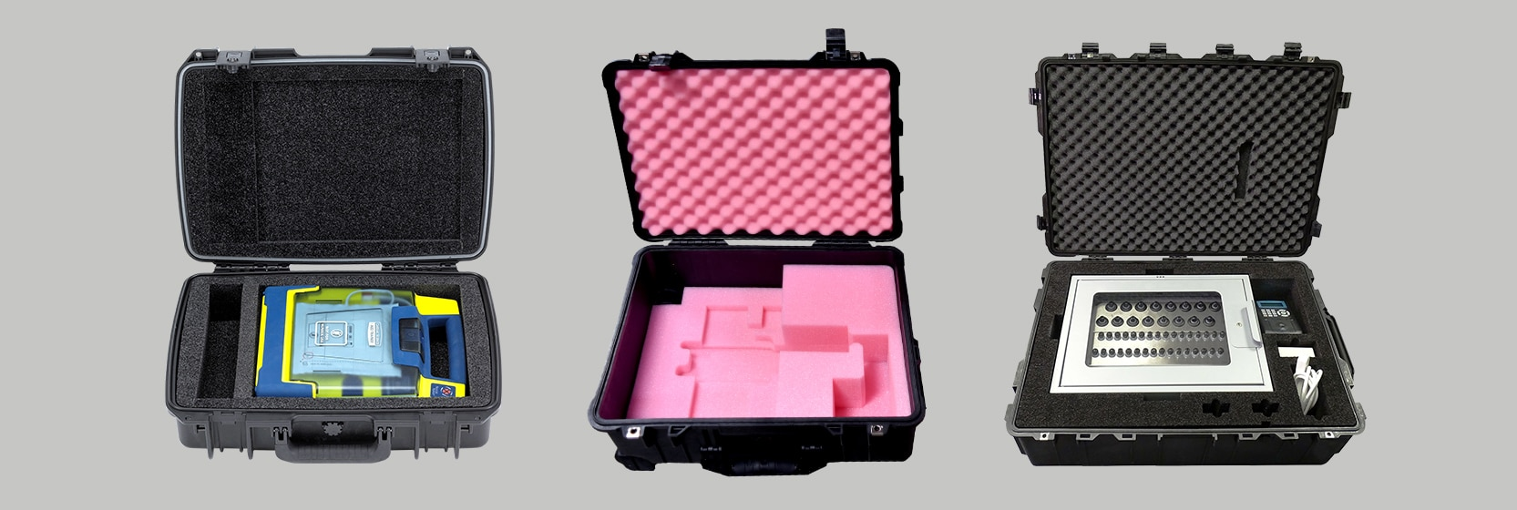 custom cases for medical industry