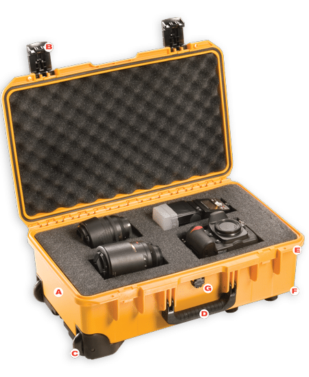 Customized Pelican Case with Grey Interior